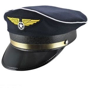 Halloween Pilot Captain Hat